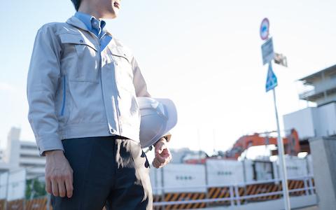 足場工事スタッフのイメージ写真