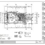 足場 CAD 図面